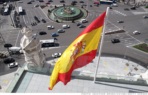 Spanish 10-year bond yields rose above 6% on Wednesdasy for the first time since April 27, fueled by concerns over the banking sector.
