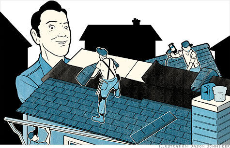 No other home project is as crucial for protecting value than putting on a new roof.