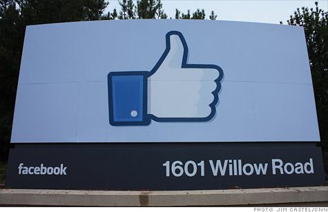 facebook raises price range