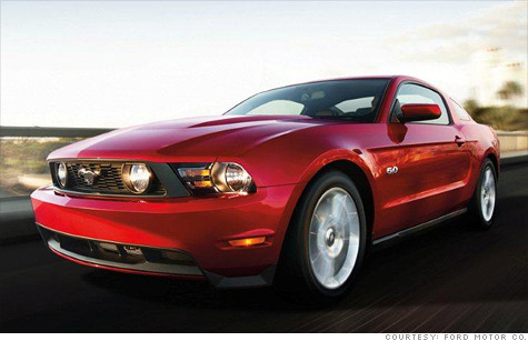 The 'Mustang' name and even the company's iconic Blue Oval that had been given as collateral on Ford's 2006 line of credit are now back under the automaker's control.