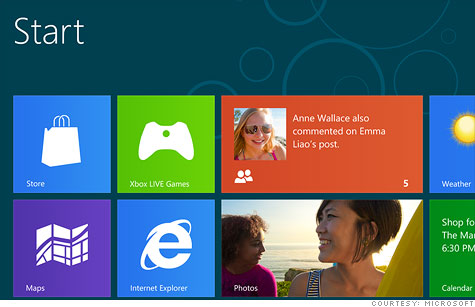 Microsoft's Windows 8 will bring an app-like interface -- and an app store sales model -- to traditional PCs.