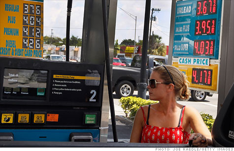 The average price of a gallon of regular gas has fallen steadily since early April.