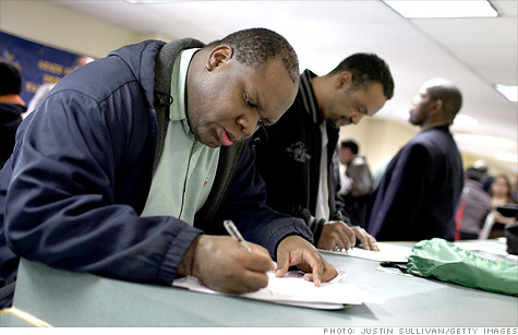 The unemployment rate is likely to fall as people lose their jobless benefits.