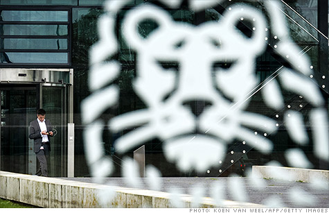ING will pay a $619 million fine.