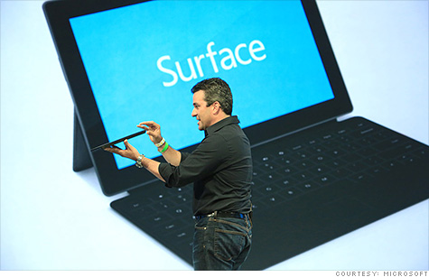 microsoft surface hardware