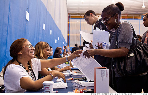 Jobless claims have been in the 380,000 range for four straight months.