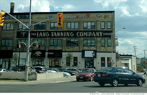 A reclaimed tannery building has become Waterloo's tech hub.