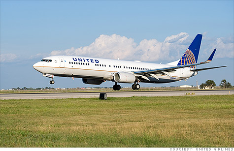United Airlines placed an order for 150 Boeing 737 jets Thursday, worth $14.7 billion.