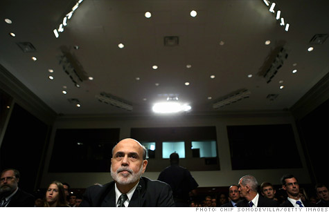 Bernanke told lawmakers that he can't say that the Libor rate setting process is reliable.