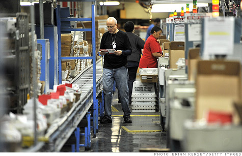 The Postal Service is consolidating 46 plants over the next six weeks.