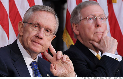 Tax plans from Senate Majority Leader Harry Reid and Minority Leader Mitch McConnell epitomize the diviide between Democrats and Republicans when it comes to taxes in 2013.