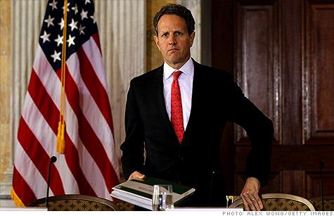 Treasury Secretary Tim Geithner warns that the European debt crisis threatens the U.S. economy.