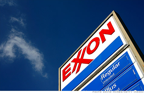 Exxon Mobil reports record profit of nearly $16 billion, but nearly half comes from one-time gains.
