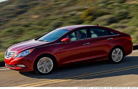 Hyundai is recalling 22,512 Sonata sedans and almost 200,000 Santa Fe SUVs for seperate airbag-related issues.