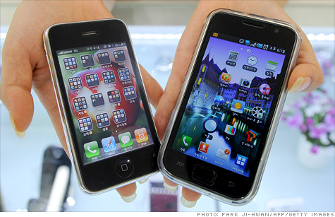 Apple is suing Samsung over what it sees as its copycat smartphone and tablet designs.