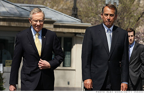 Senate Majority Leader Harry Reid and House Speaker John Boehner reached a deal to avert the risk of a government shutdown. But Congress won't vote on that deal until this fall. Can the economy hang on that long?