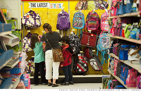 17 states are rolling out sales-tax holidays just in time for the back-to-school shopping season.