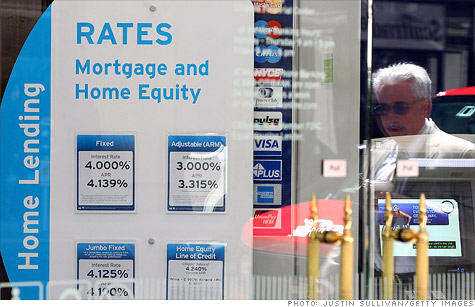 The closing costs of getting a mortgage have dropped.