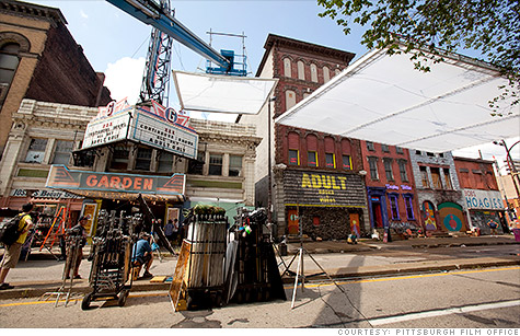 Pittsburgh has become a hot destination for film productions and the firms that cater to them.