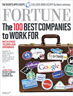 Fortune 100 Best Places to Work 2012