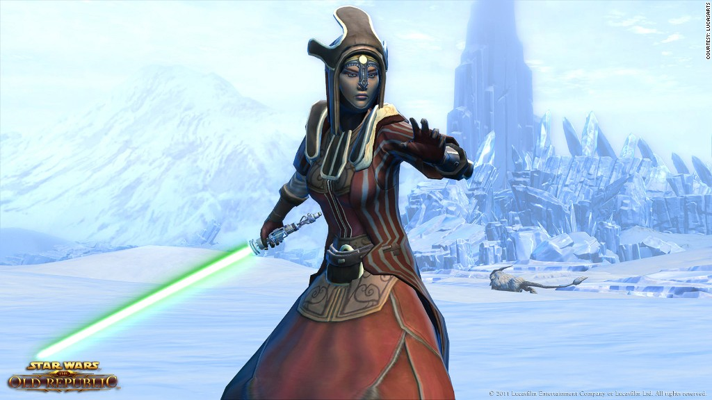Star Wars The Old Republic Jedi Sage