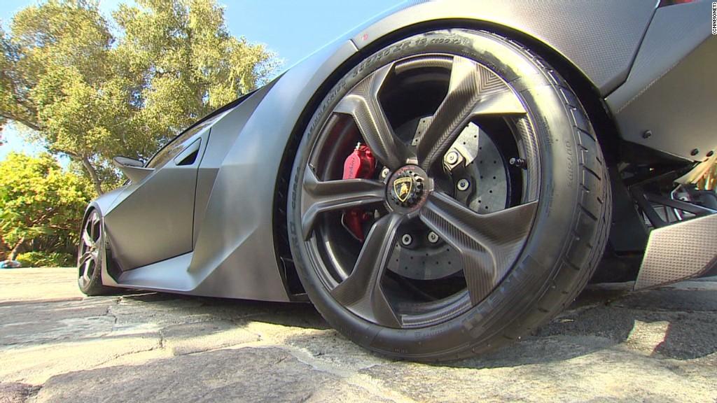 Sesto Elemento: One pricey Lamborghini