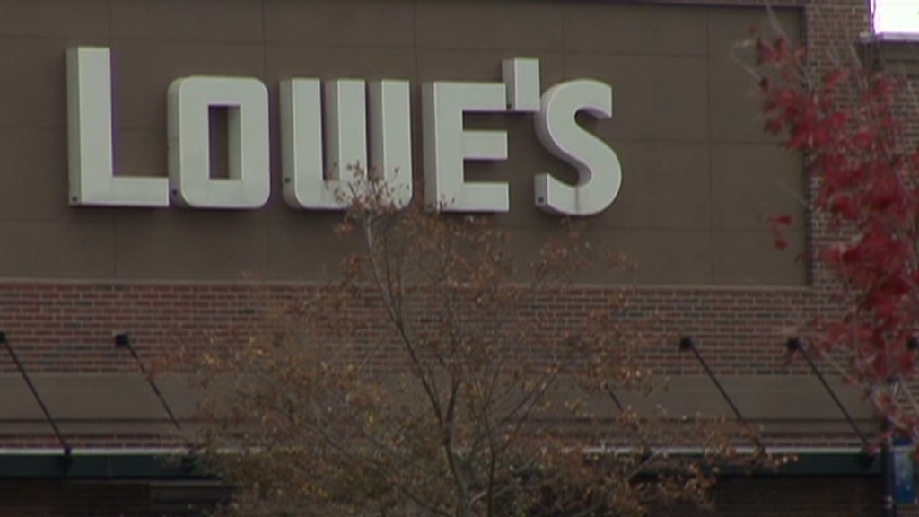 Nothing sweet about Lowe's