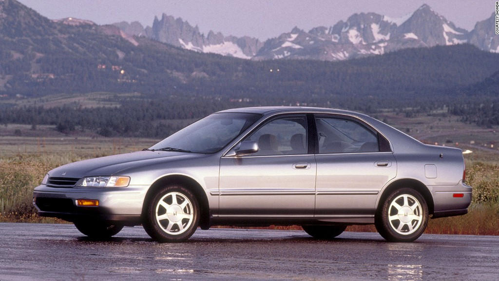 Older Models Top List Of Most Stolen Cars