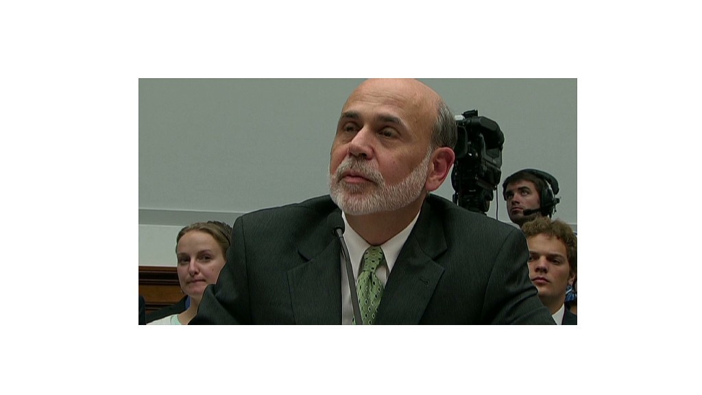 Bernanke and Paul spar over gold