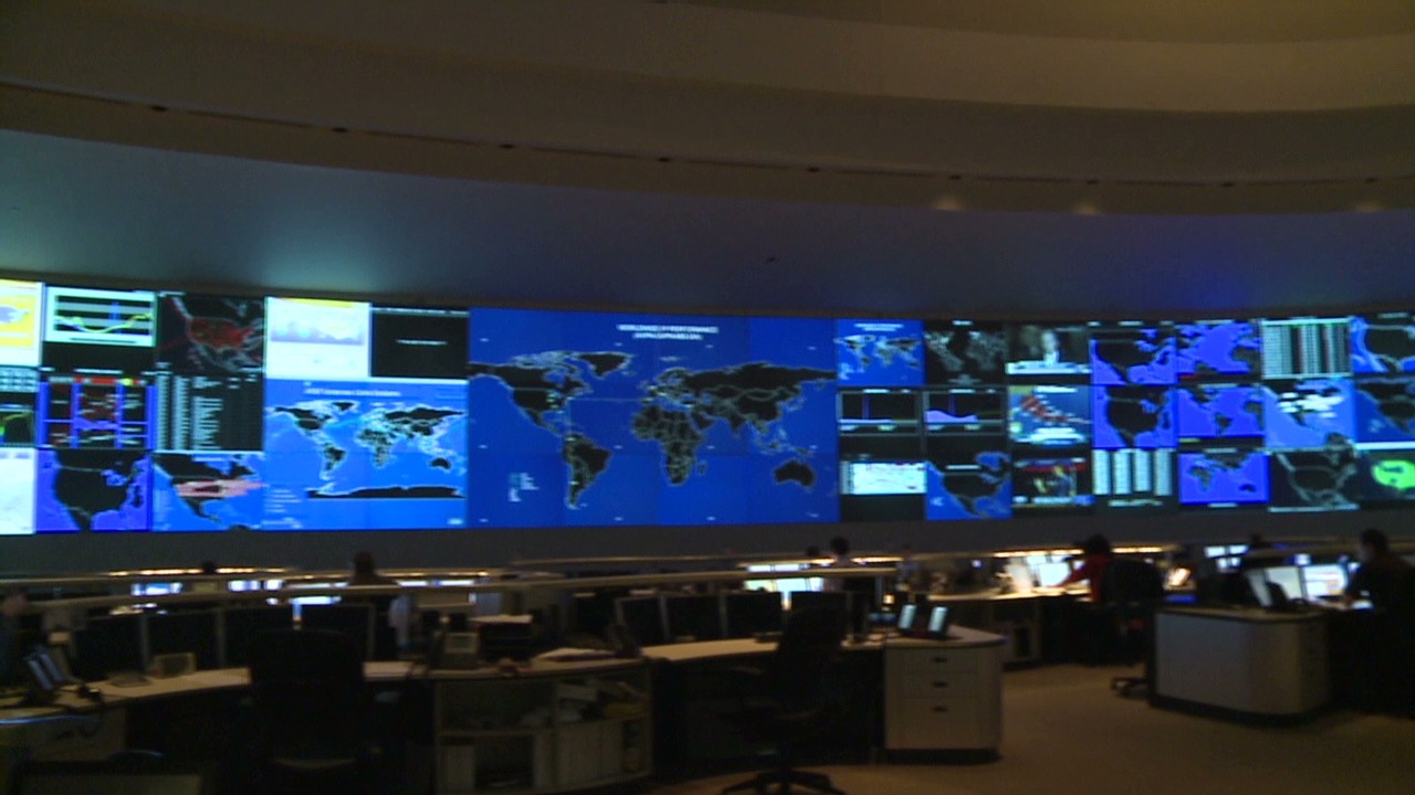 World War  Command Room