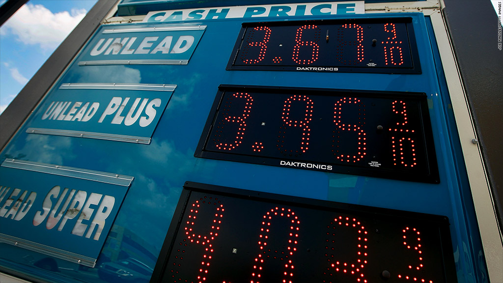 gas prices rise issac