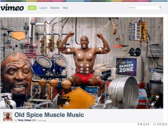 Old Spice S Latest Ad Behind The Muscle Music