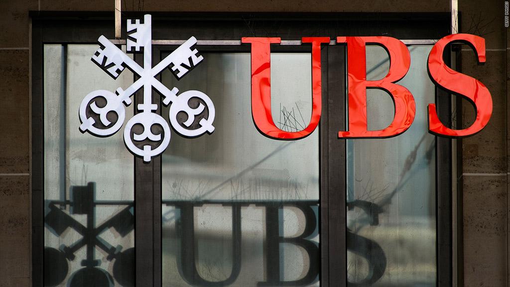 ubs signage