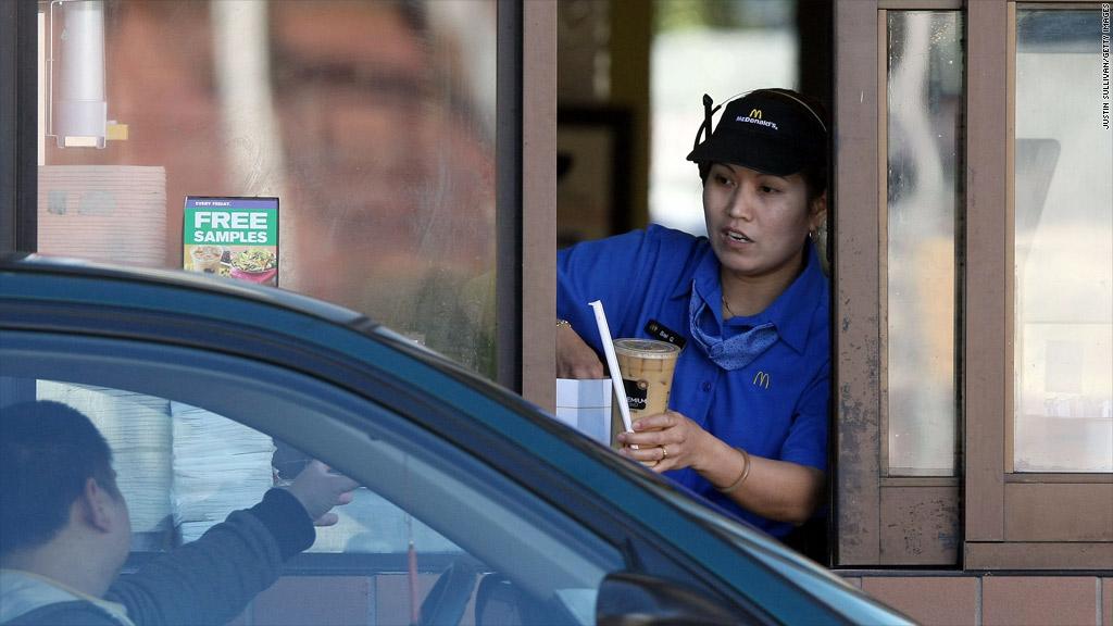 mcdonalds worker