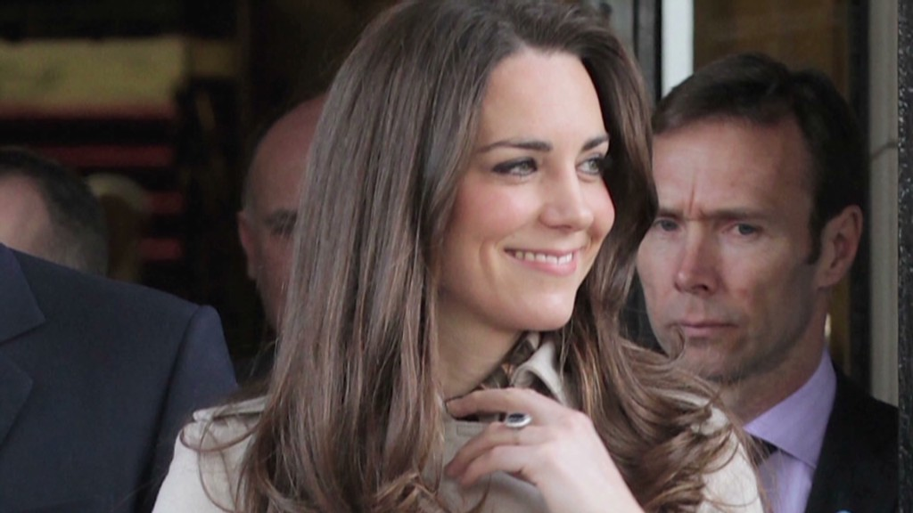 No Duchess Kate bump for Burberry