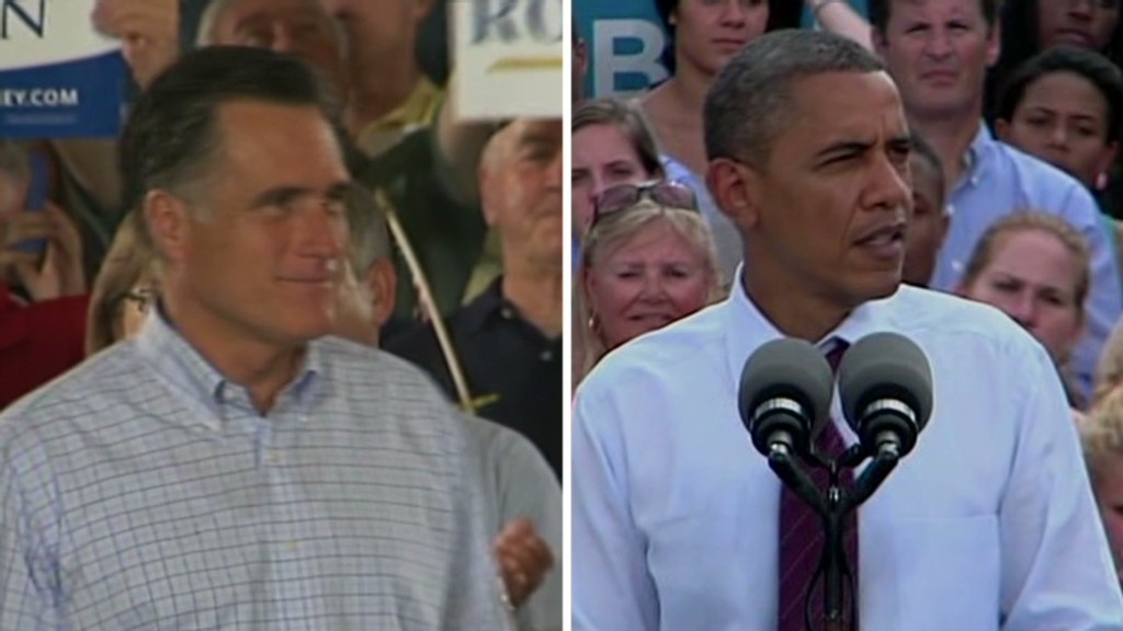Obama and Romney's tax tug-of-war