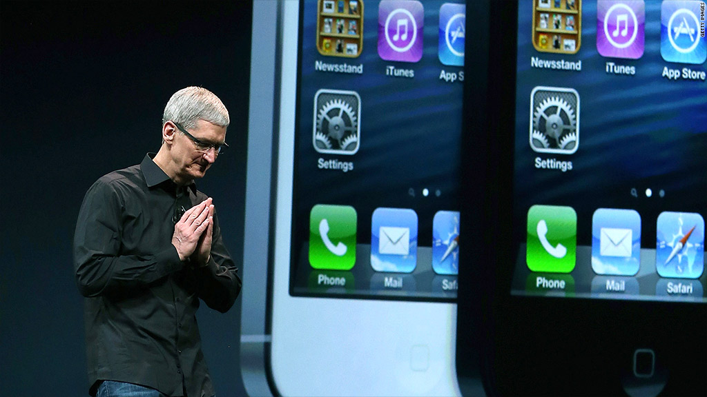 tim cook iphone 5