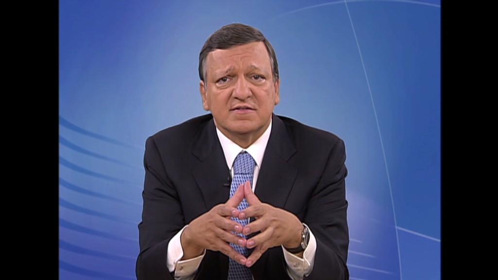 Barroso: Europe crisis is political problem
