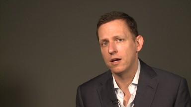 PayPal cofounder Thiel's startup advice