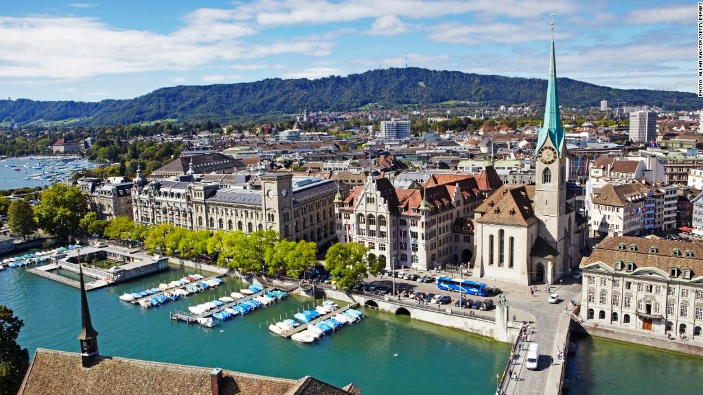 new business cities zurich switzerland