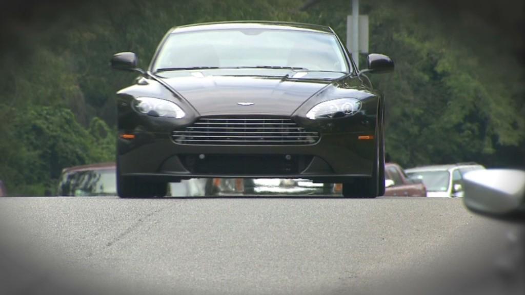 Aston Martin's 'entry level' coupe