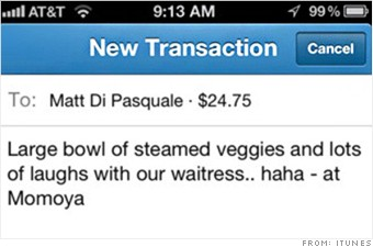 Venmo - 5 pay-by-phone apps tested: Google Wallet, Square