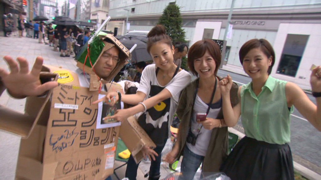 iPhone 5 frenzy kicks off in Japan