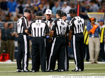 Nfl Plans To Hire Up To 24 Full Time Game Officials