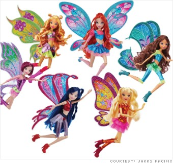Winx Club Believix Dolls