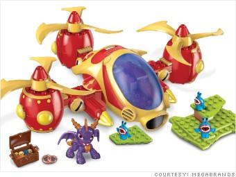 gallery hot toys MEGABrands skylander copter attack