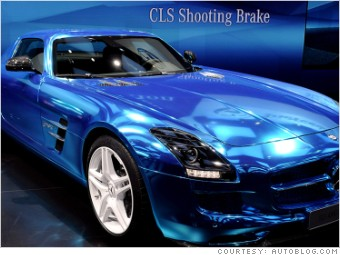 gallery mercedes benz sls amg electric 2012 paris auto show