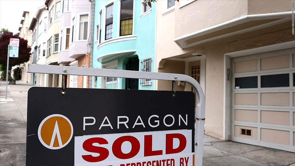 home prices sold