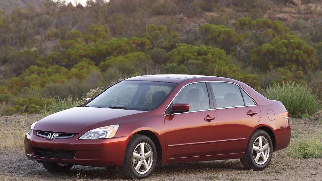 Honda Accord V6 S From Model Years 2003 2007 Are Affected By The Recall