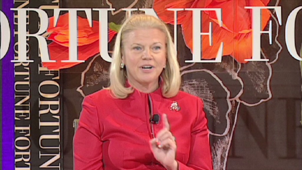 What IBM's CEO learned from her mom